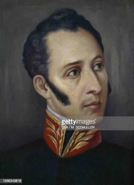 Portrait of Antonio Jose de Sucre Ecuadorian general and patriot painting by Joaquin Pinto