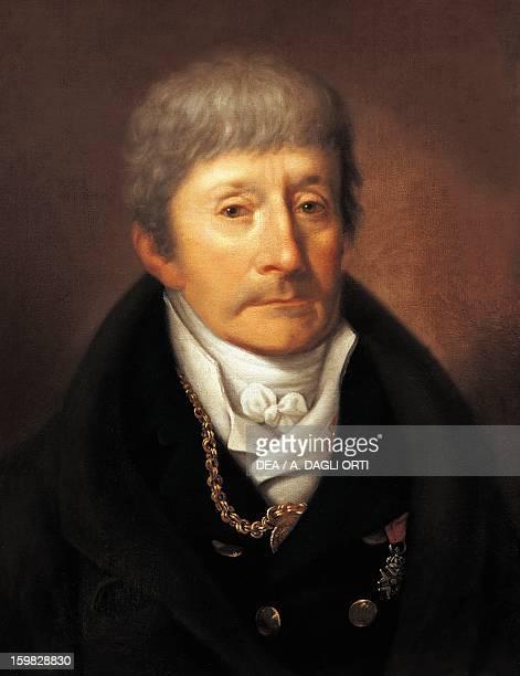 Portrait of Antonio Salieri Italian composer and conductor Vienna Gesellschaft Der Musikfreunde