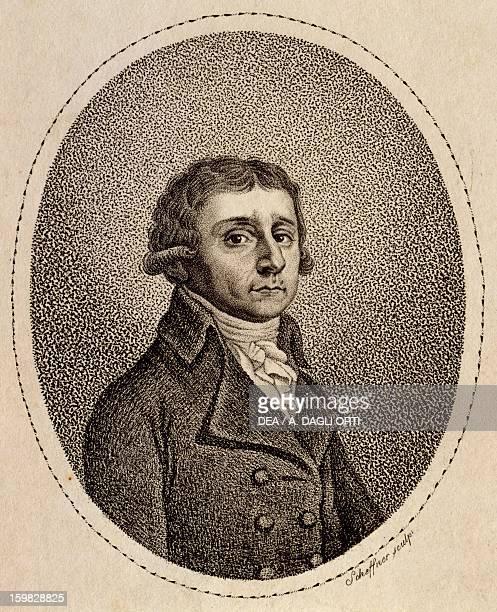 Portrait of Antonio Salieri Italian composer Engraving Vienna Historisches Museum Der Stadt Wien