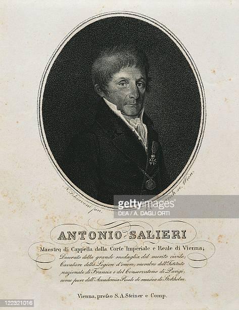 Portrait of Antonio Salieri Italian composer