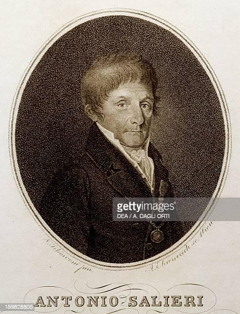 Portrait of Antonio Salieri Italian composer Print Vienna Historisches Museum Der Stadt Wien