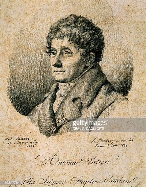 Portrait of Antonio Salieri Italian composer Vienna Historisches Museum Der Stadt Wien