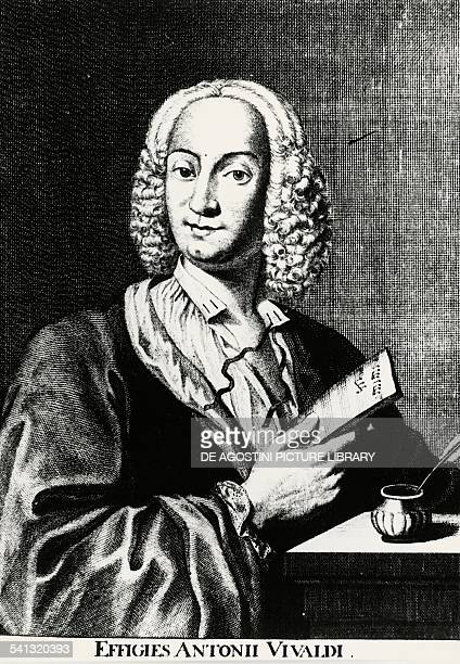 Portrait of Antonio Vivaldi by Francois Morellon de La Cave Italy 18th century