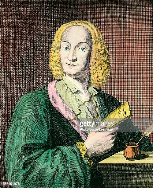 Portrait of Antonio Vivaldi italian composer