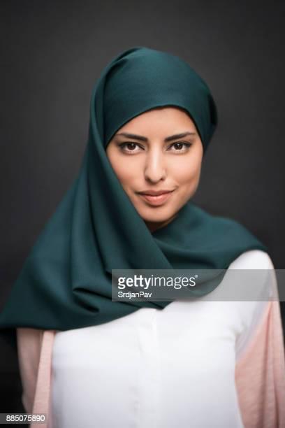 Portrait Of Arab Beauty