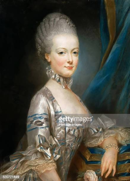 Portrait of Archduchess Maria Antonia of Austria the later Queen Marie Antoinette of France Found in the collection of Musée de l'Histoire de France...