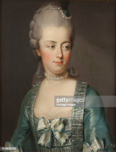 Portrait of Archduchess Marie Antoinette of Austria Queen of the French Found in the collection of Nationalmuseum Stockholm