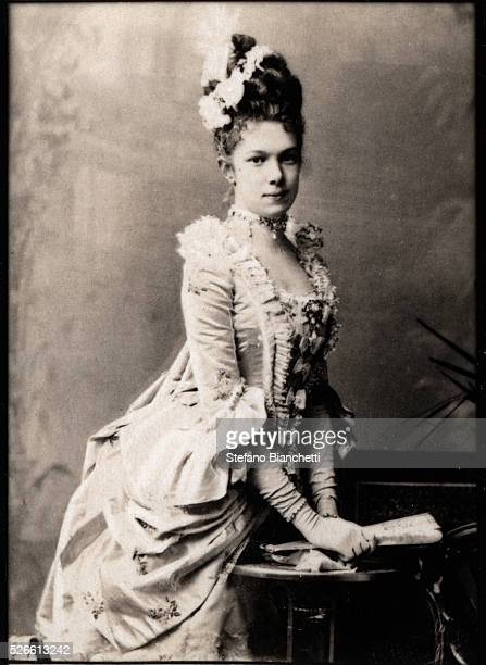 Portrait of Archduchess Marie Valerie of Austria , daughter of Emperor Franz Joseph I.