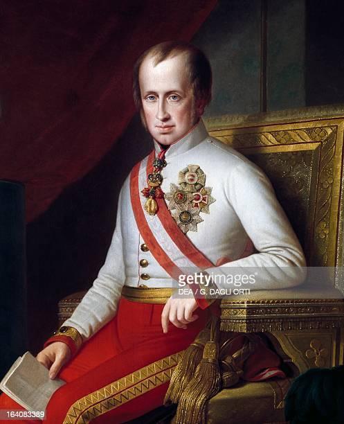 Portrait of Archduke Franz Karl of Austria , Archduke of Austria. Citta' Del Messico, Museo Nacional De Historia