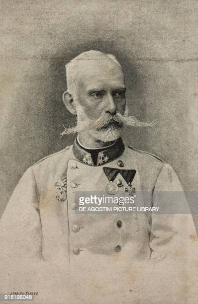 Portrait of Archduke Ranieri Ferdinand of HabsburgLorraine Austrian general engraving after a photo by Viktor Angerer from L'Illustrazione Italiana...