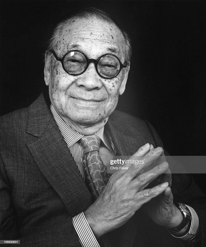 Portrait Of I.M. Pei : News Photo