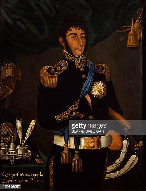 Portrait of Argentine General Jose de San Martin painting by Jose Gil de Castro Argentina 19th century