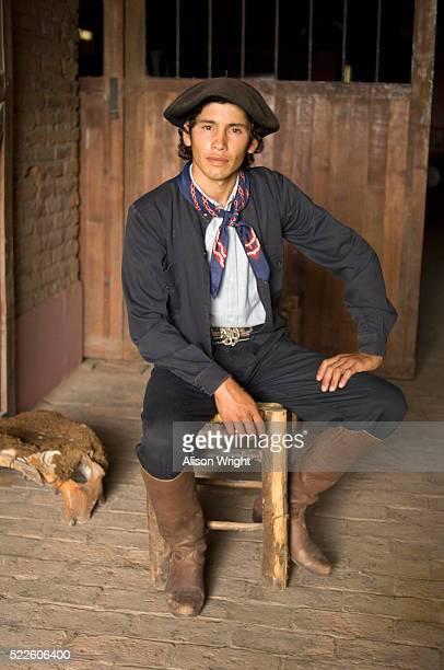 Portrait of Argentine Man