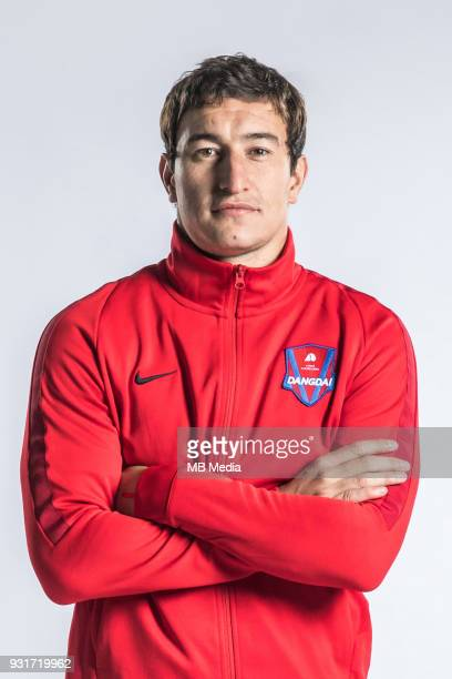 **EXCLUSIVE** Portrait of Argentine soccer player Nicolas Aguirre of Chongqing Dangdai Lifan FC SWM Team for the 2018 Chinese Football Association...