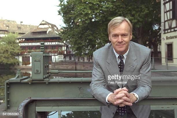 Portrait of Ari Vatanen in the quarter of 'Petite France'