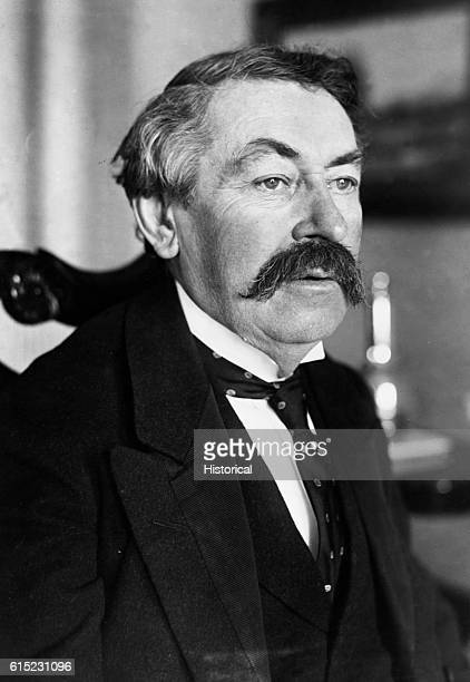 Portrait of Aristide Briand Prime Minister of France and Nobel Peace Prize winner He proposed a 'United States of Europe' in 1930