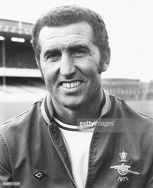 Portrait of Arsenal Football Club coach Bob Campbell circa 1975