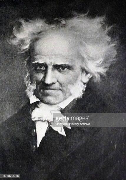 Portrait of Arthur Schopenhauer a German philosopher Dated 19th Century