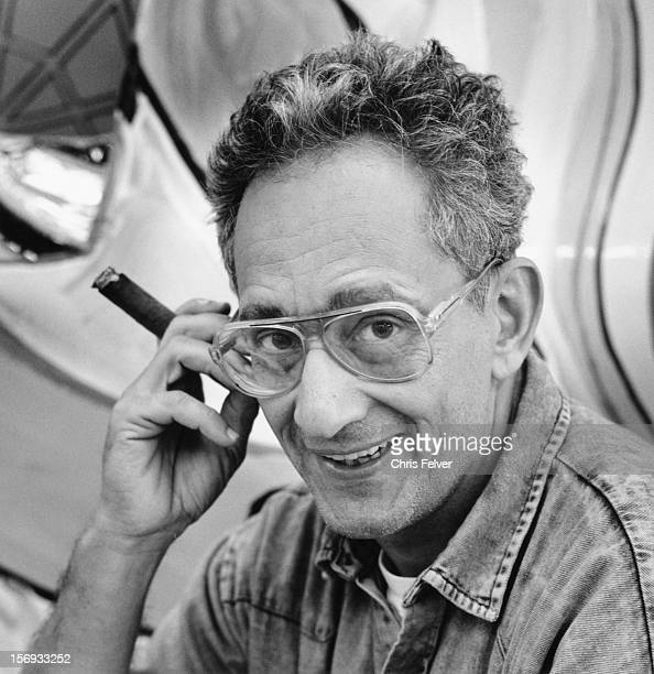 Portrait of artist and sculptor Frank Stella New York New York 1990