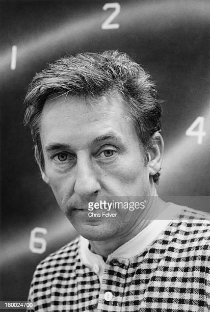 Portrait of artist Ed Ruscha, Los Angeles, California, 1986.