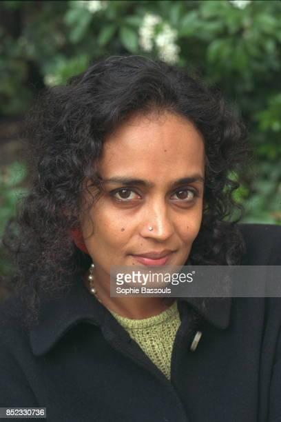 Portrait of Arundhati Roy