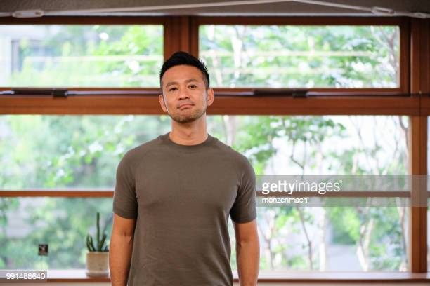 アジアの創造的なビジネスマンの肖像画