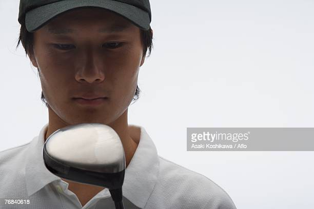 Portrait of Asian Golf Player