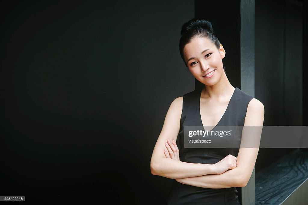 An Asian Woman With