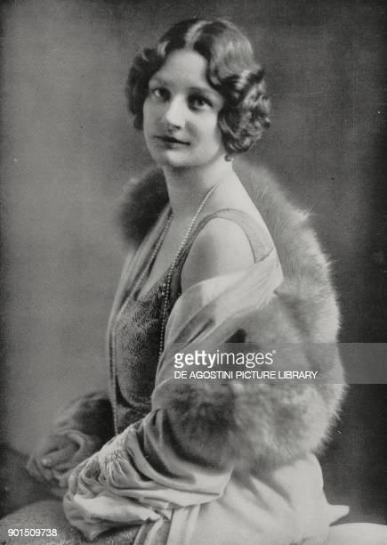 Portrait of Astrid of Sweden Queen of Belgium died on August 29 1935 in a car accident near Lucerne Switzerland photo by Barrett from L'illustrazione...