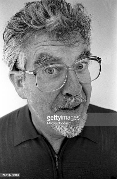 Portrait of Australian broadcaster and painter Rolf Harris United Kingdom 1997