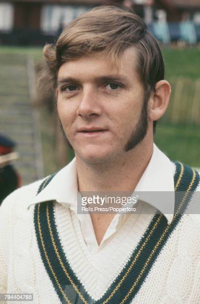 Portrait of Australian cricketer Bob Massie pictured during the Australian cricket team tour of England and Ashes Test series in 1972