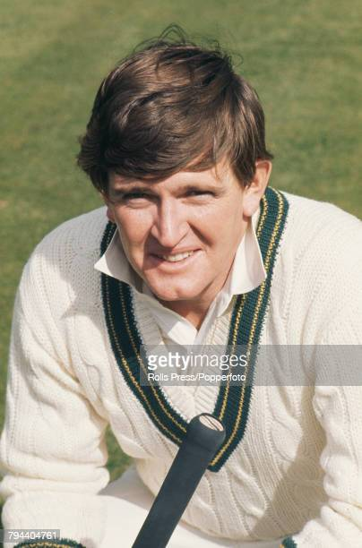 Portrait of Australian cricketer Keith Stackpole pictured during the Australian cricket team tour of England and Ashes Test series in 1972