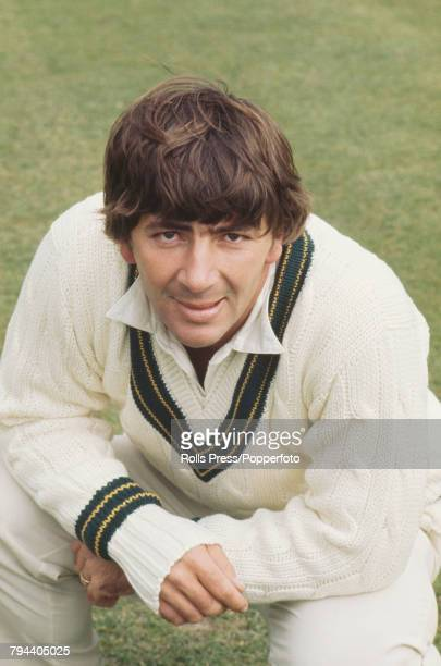 Portrait of Australian cricketer Rod Marsh pictured during the Australian cricket team tour of England and Ashes Test series in 1972