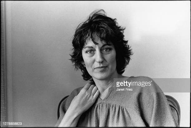 Portrait of Australian feminist and author Germaine Greer, San Francisco, California, November 1979.