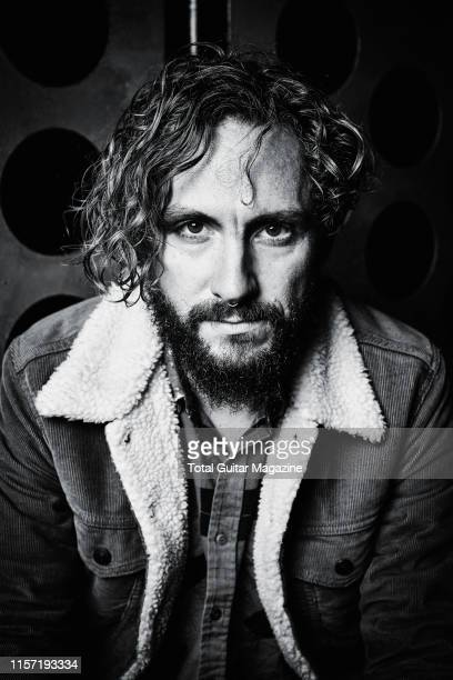 Portrait of Australian musician John Butler, photographed before a live performance at the O2 Academy in Bristol, England, on October 16, 2018. )