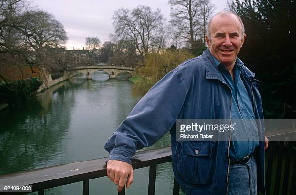 A portrait of Australianborn Clive James on 20th January 1990 in Cambridge UK Clive James AO CBE FRSL is an Australian author critic broadcaster poet...