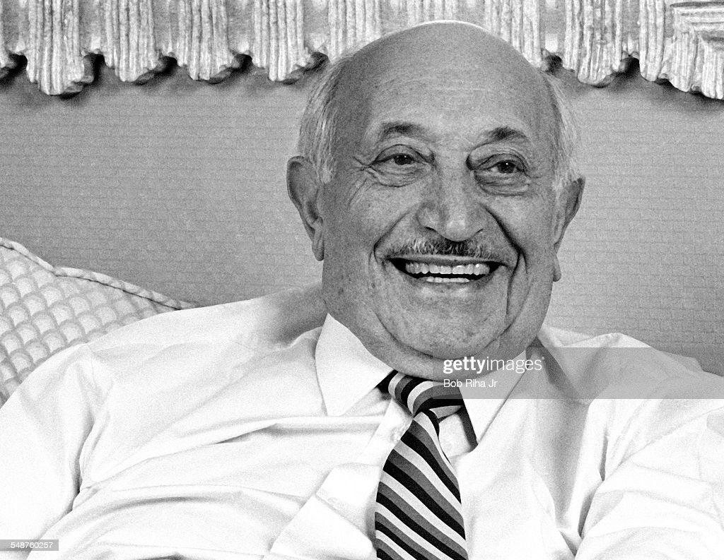 Portrait Of Simon Wiesenthal : News Photo