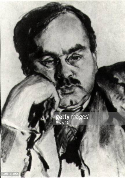 Portrait of Austrian psychiatrist and psychologist Alfred Adler He collaborated with Sigmund Freud and cofounded the psychoanalytic movement then he...