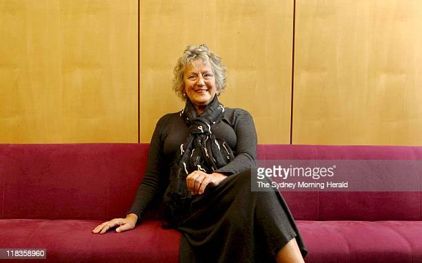 Portrait of author and feminist, Germaine Greer, before she speaks at Angel Place in Sydney tonight.