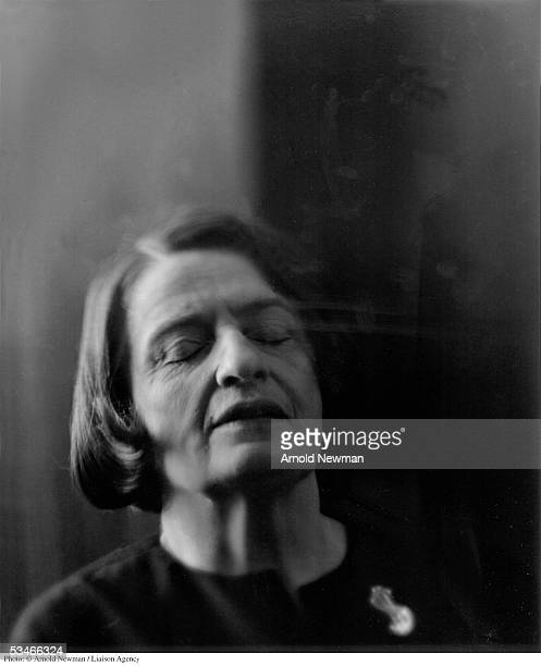 Portrait of author Ayn Rand September 15 in New York City Rand is best known for her novels 'Atlas Shrugged' and 'The Fountainhead'