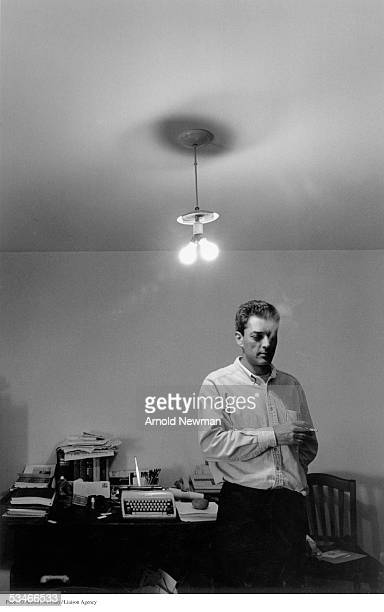 Portrait of author Paul Auster June 7 in Brooklyn New York