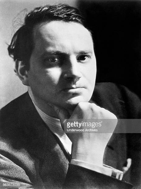 A portrait of author Thomas Wolfe whose new book 'From Death to Morning' will be published in November by Charles Scribner's Sons 1935