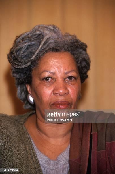 Portrait Of Author Toni Morrison Paris November 21 1994