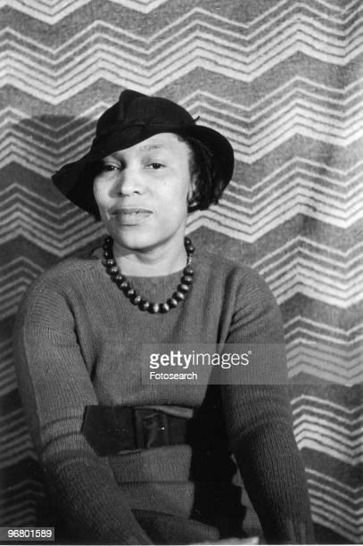 Portrait of author Zora Neale Hurston circa 1940s