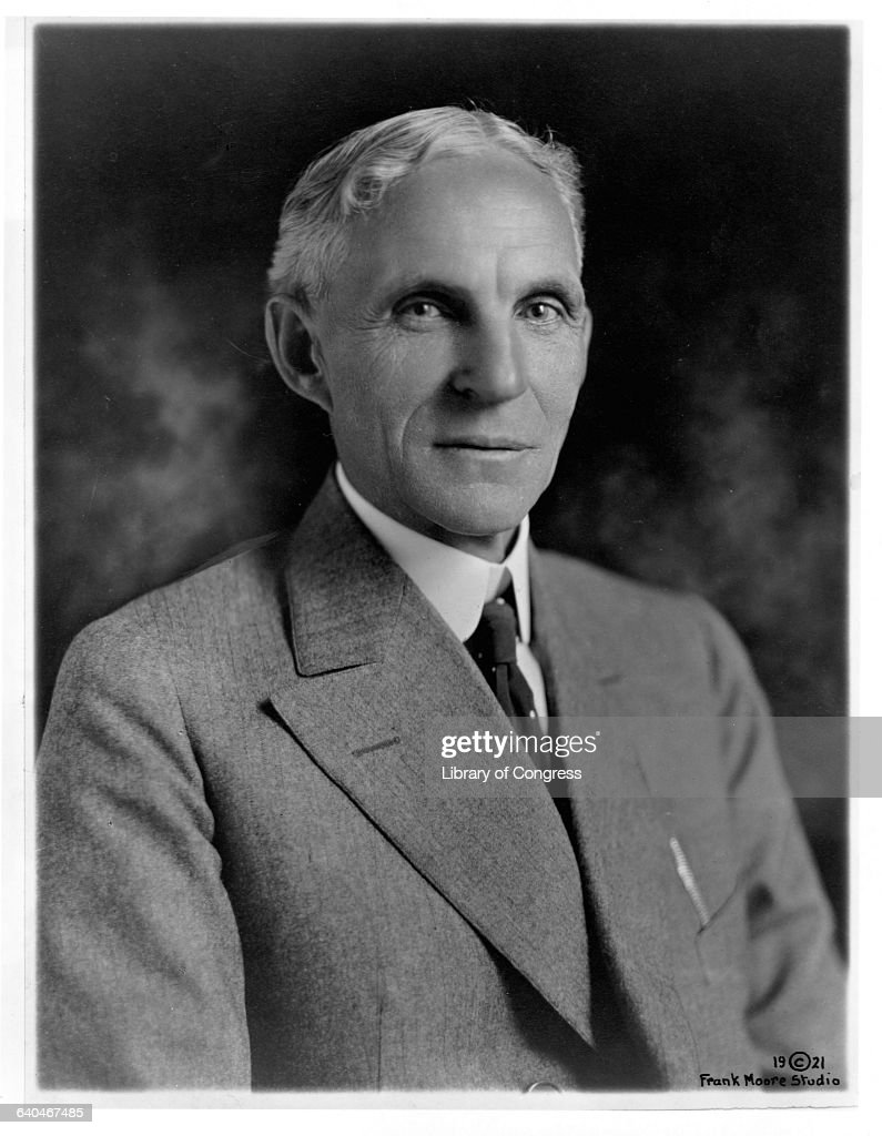 Henry Ford : News Photo