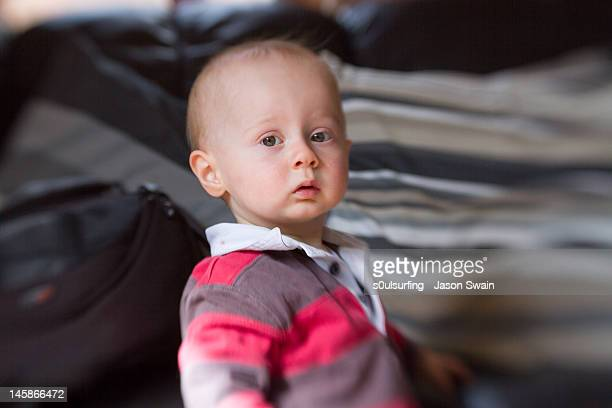 portrait of baby boy - s0ulsurfing stock pictures, royalty-free photos & images