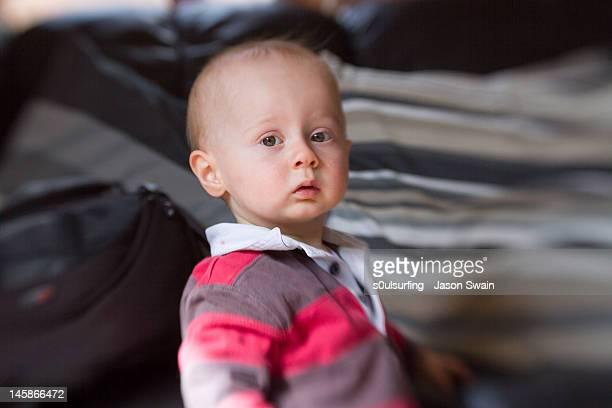 portrait of baby boy - s0ulsurfing ストックフォトと画像