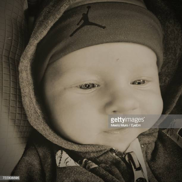 portrait of baby - muro stock photos and pictures
