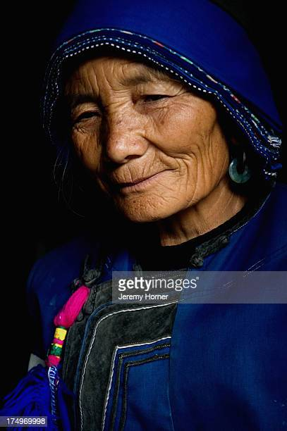 Portrait of Bai tribeswoman Lijiang