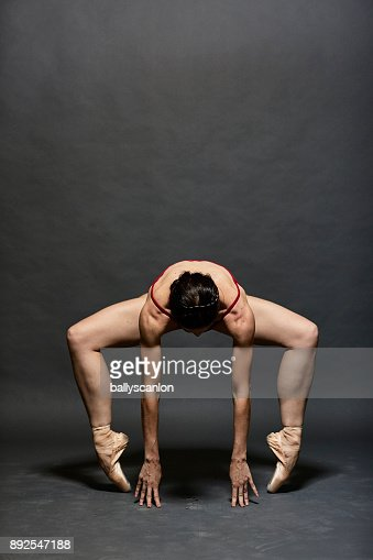 Portrait of Ballet Dancer In Studio
